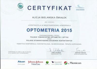 Optometria 2015