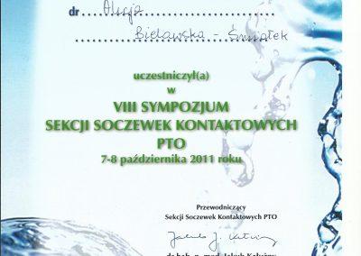Sympozjum sekcji soczewek kontaktowych PTO