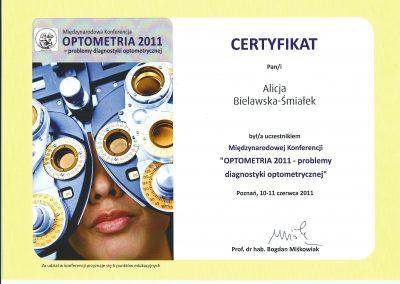 Optometria 2011
